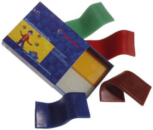シュトックマー 蜜ろう粘土 6色6枚セット 51000,粘土遊び,幼児,