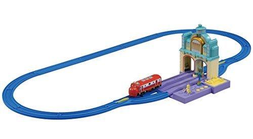 プラレール チャギントン タッチDE!トーク ウィルソンとヴィーのおしゃべりトンネルセット,電車,アニメ,チャギントン