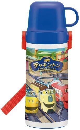2WAY 中栓ステンレスボトル 400ml チャギントン,電車,アニメ,チャギントン