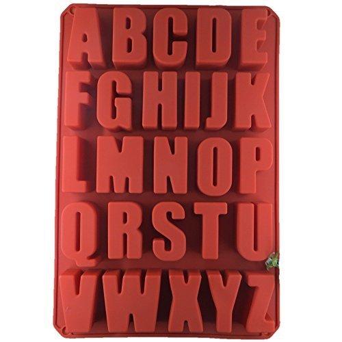 シリコンモールド ( アルファベット 26文字 A-Z )( 粘土 レジン ),手作り,石鹸,