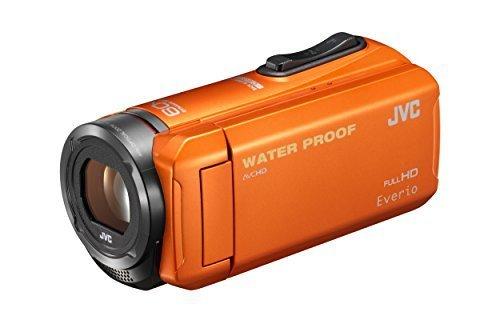 JVC KENWOOD JVC ビデオカメラ EVERIO 防水 防塵 内蔵メモリー32GB オレンジ GZ-R300-D,デジタル,ビデオ,カメラ