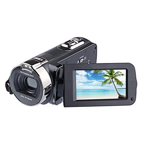 PowerLead 2.7インチ液晶画面デジタルビデオカメラ24MPデジタルカメラ,デジタル,ビデオ,カメラ