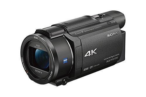 ソニー SONY ビデオカメラ FDR-AX55 4K 64GB 光学20倍 ブラック Handycam FDR-AX55 BC,デジタル,ビデオ,カメラ
