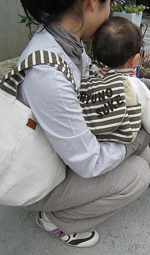 PetiteLisu 名入れベビーリュック&ママトートセット リシュマム,親子,リンク,コーデ