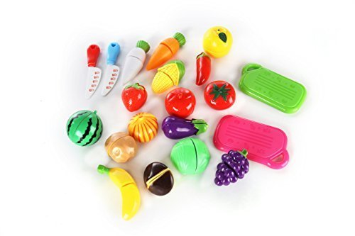 おもちゃの神様 切れる野菜と果物 20セット 包丁 まな板 付き ままごと 知育,ままごと,おもちゃ,