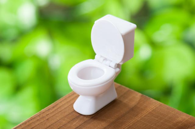 洋式トイレ,おむつ,ゴミ箱,