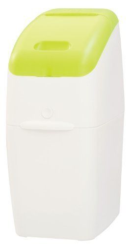 Aprica (アップリカ) 紙おむつ処理ポット におわなくてポイ 消臭タイプ 本体 グリーン 09121 「消臭」・「抗菌」・「防臭」可,おむつ,ゴミ箱,
