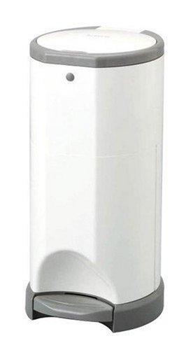日本育児 nihonikuji KORBELL おむつポット 本体 幅24×奥行き25.5×高さ48cm 2.1kg 5102809001 ふんわりベビーパウダーな専用ロールで消臭効果抜群なおむつポッド,おむつ,ゴミ箱,