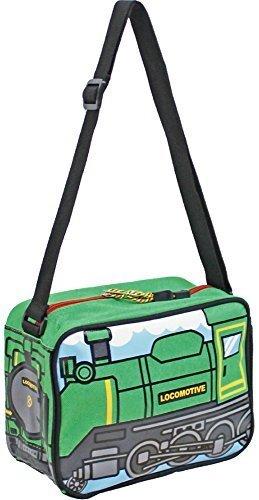 (ターンオーバー)TURN OVER キッズ トレイン ショルダーバッグ K-630 (GRN:グリーン/蒸気機関車 ),幼稚園,通園,バッグ