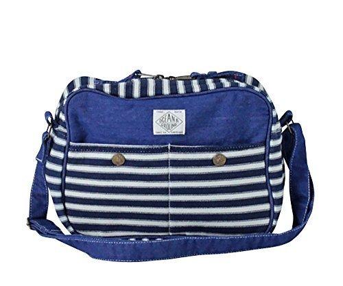 オーシャンアンドグラウンド 通園バッグ BLUEBLUE キッズ HI:ヒッコリー 1615002,幼稚園,通園,バッグ