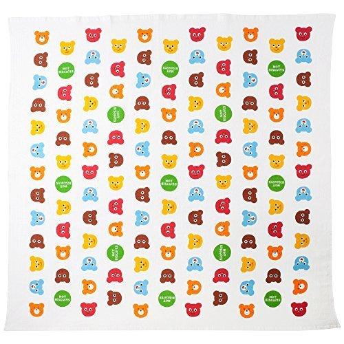 ミキハウス ホットビスケッツ (MIKIHOUSE HOT BISCUITS) ガーゼバスタオル 76-8016-950 マルチ,赤ちゃん,バスタオル,