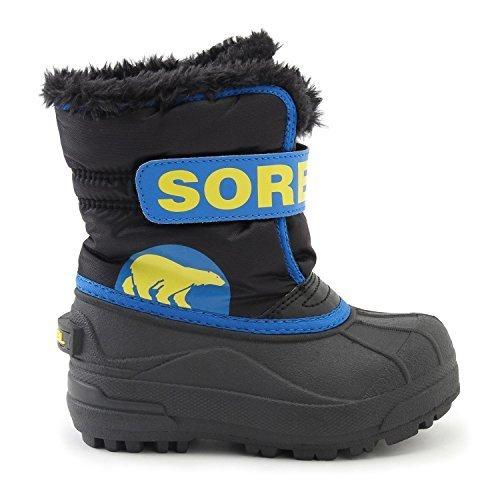 (ソレル)SOREL キッズ スノーブーツ チルドレンスノーコマンダー Snow Commander /1877 sorel1877 (18cm, 011-Black-SuperBlue),ベビー,ブーツ,