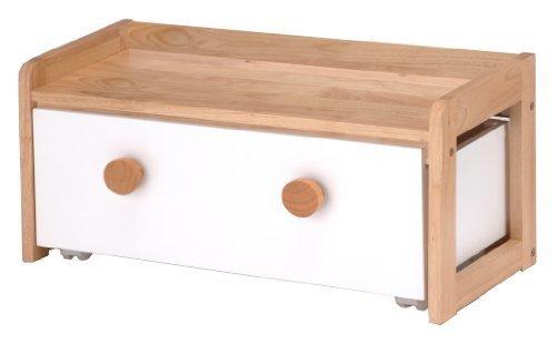 ネイキッズ BOXテーブル 幅70cm ナチュラル KDT-2402NA,おもちゃ,片付け,