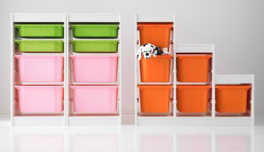 TROFAST(トロファスト)収納ボックス|IKEA(イケア),おもちゃ,片付け,