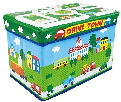 ユーカンパニー U-company ストレージボックス スツール ドライブタウン 耐荷重80kg 座れる収納ボックス,おもちゃ,片付け,