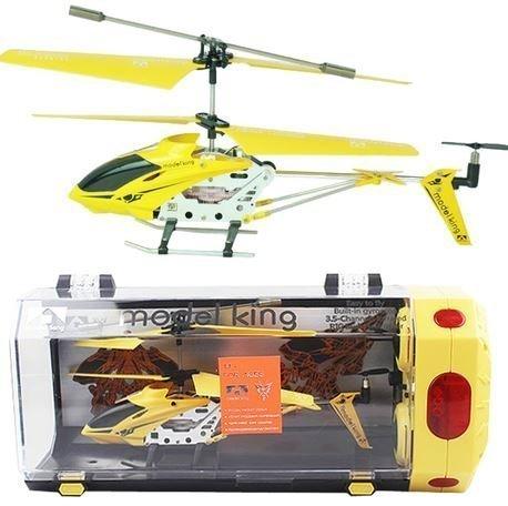初心者に最適ジャイロ搭載3.5ch、墜落しても壊れにくい素材でどんどん飛ばそう!便利なコントローラ充電、ラジコン ヘリコプター 室内ラジコンヘリ(イエロー),ラジコン,おすすめ,