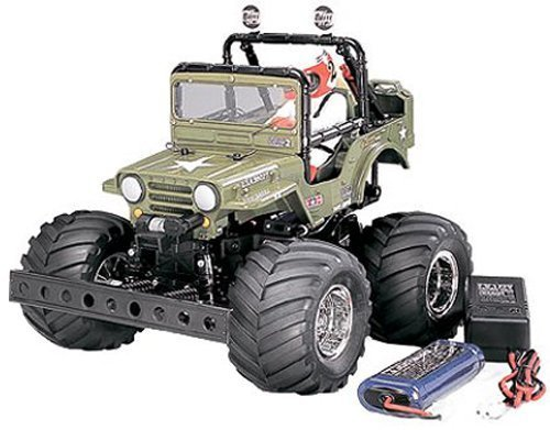 タミヤ 1/10 XBシリーズ No.43 XB ワイルドウイリー 2 2.4GHz プロポ付き塗装済み完成品 57743,ラジコン,おすすめ,