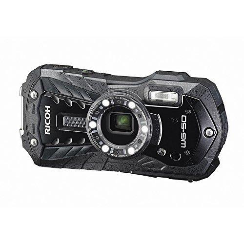 RICOH 防水デジタルカメラ RICOH WG-50 ブラック 防水14m耐ショック1.6m耐寒-10度 RICOH WG-50 BK 04571,デジタルカメラ,おすすめ,