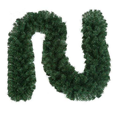 Gespout クリスマス クリスマスリース 飾り クリスマスツリー サンタクロース オーナメント ガーランド クリスマス用品 クリスマス飾り 270CM 上品 玄関 ドア 窓 パーティー装飾藤,リース,手作り,