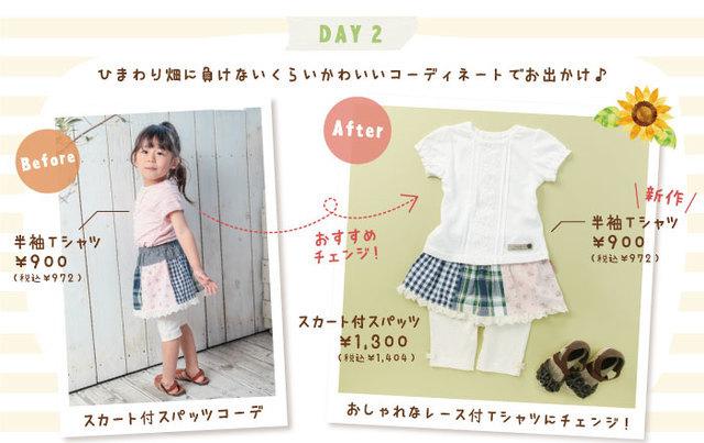 キムラタンの着回し術,子供服,プチプラ,通販