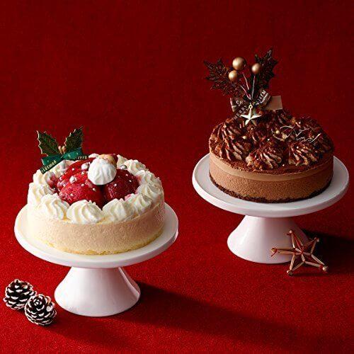 ルタオ (LeTAO) クリスマスケーキ ノエルデュオ~ぬくもりが繋がる時~ ペールノエル ベルニュイ 各1個(計2個セット) 直径12cm 4号,クリスマス,ケーキ,通販