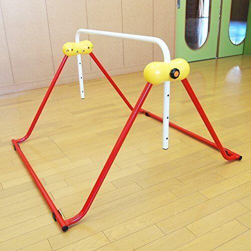 鉄棒 子ども用 室内鉄棒 耐荷重70kg 組立不要 ツムラこども鉄棒 逆上がりコツDVD付 高さ70cmから,室内鉄棒,