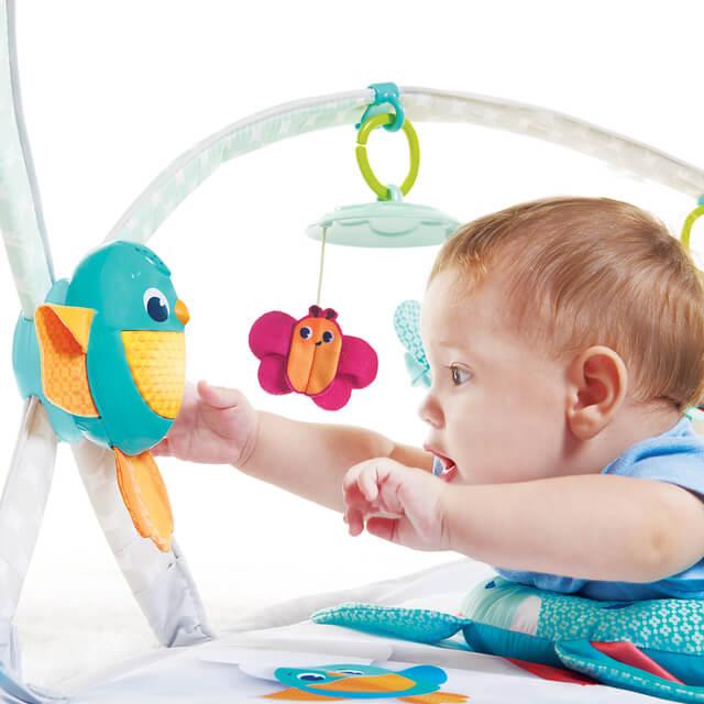 小鳥さんのおもちゃ,バウンサー,ベビージム,