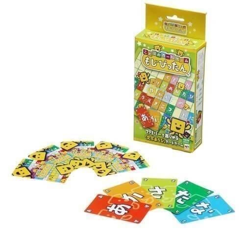 ことばのカードゲーム もじぴったん,カードゲーム,おすすめ,