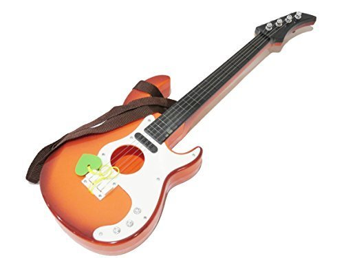 yemsy style 弾いている 感覚が楽しめる 子供 用 本格 軽量 キッズ おもちゃ ギター 収納袋付き 選べる カラー (ブラウン),おもちゃ,楽器,