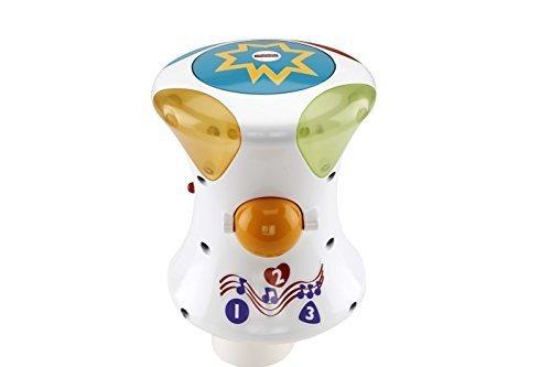 フィッシャープライス カラフルライト&サウンド! 2WAY指遊びドラム(CFN02),おもちゃ,楽器,