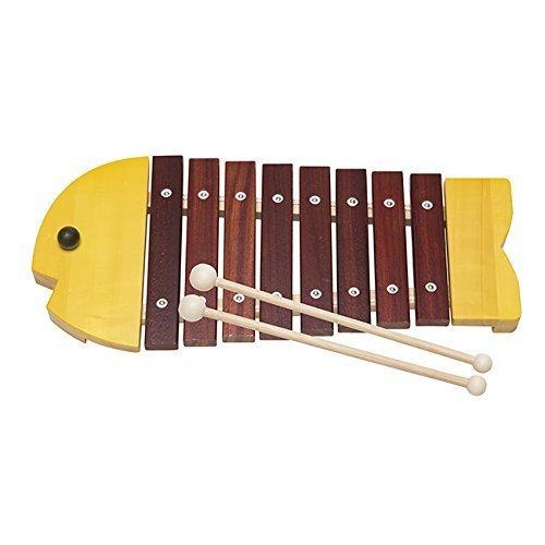 ボーネルンド おさかなシロフォン黄 【ボーネルンド】,おもちゃ,楽器,