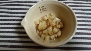 離乳食後期~納豆と山芋のトロトロ煮~,離乳食,山芋,