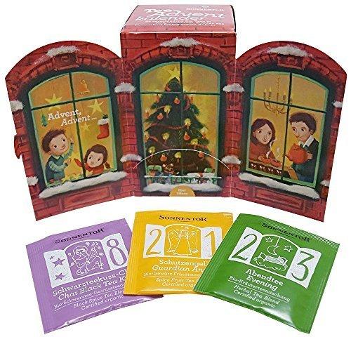SONNENTOR アドベントのお茶 24袋,クリスマス,アドベントカレンダー,