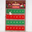 *カルディオリジナル クリスマスマーケットフェルトカレンダー2017 1枚【2017クリスマス】【賞味期限:2018/4/30】,クリスマス,アドベントカレンダー,