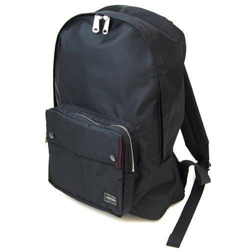 ポーターエルファイン(PORTER L-fine) PORTER×ILS共同企画 デイパック Daypack ブラック(裏地:レッド) Black(Backing:Red),子育て,リュック,