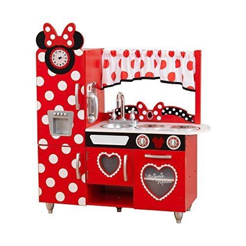 キッドクラフト ディズニー ミニーマウスのヴィンテージキッチン 【こども おままごとセット】 KidKraft Disney® Jr. Minnie Mouse Vintage Kitchen 正規品,手作り,おままごと,