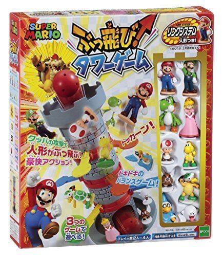 スーパーマリオ ぶっ飛び! タワーゲーム,おもちゃ,ゲーム,