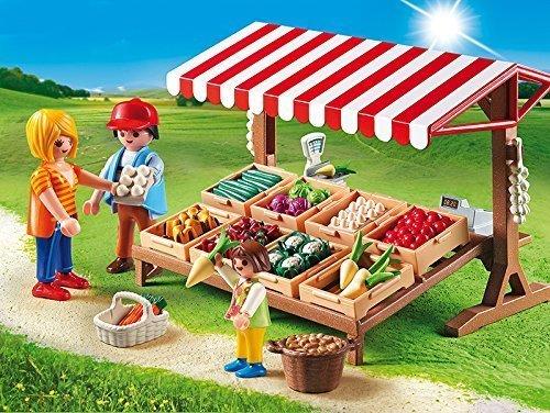 Playmobil(プレイモービル) 野菜スタンド 6121 [並行輸入品],プレイモービル,