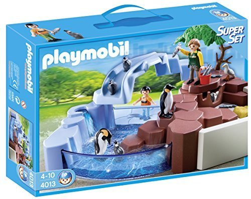 PLAYMOBIL(プレイモービル) スーパーセット ペンギンプール 4013 並行輸入品,プレイモービル,