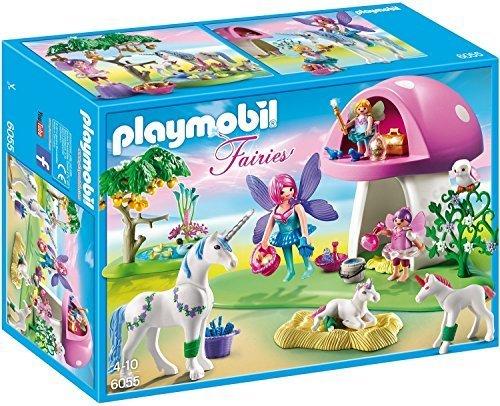 PLAYMOBIL(プレイモービル)ユニコーンと木立ちでの妖精たち 6055 [並行輸入品],プレイモービル,