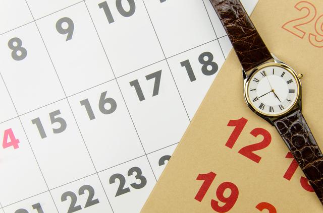 カレンダー 1年,育休,期間,