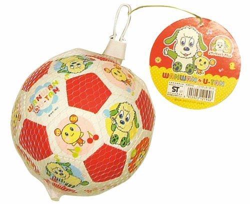 ワンワンとうーたん ソフトサッカーボール 163930,いないいないばあ,おもちゃ,