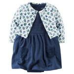 2ピースボディスーツドレス&カーディガンセット,子供服,通販サイト,
