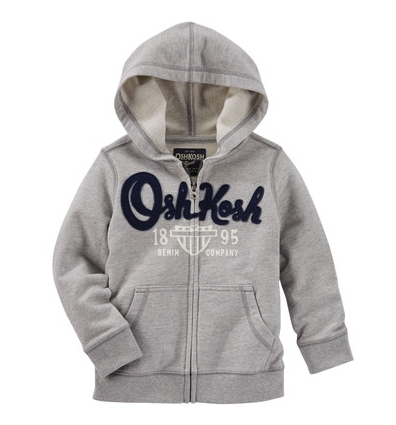 OSHKOSH フレンチテリーヘリテージフード ヘザー ,子供服,通販サイト,