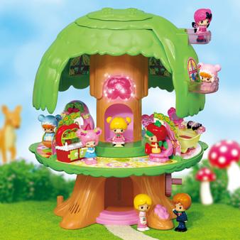 おしゃべりコレクション こえだちゃんと木のおうち,こえだちゃん,おもちゃ,おすすめ