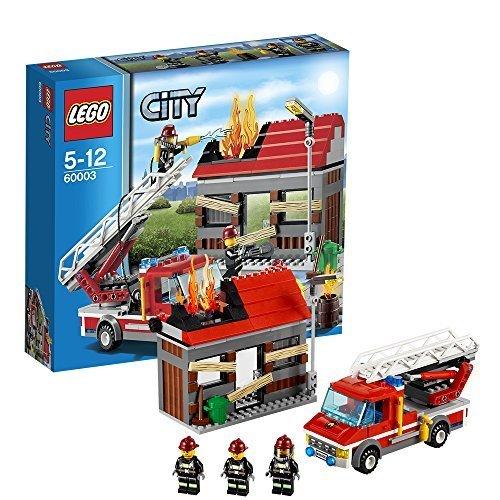 レゴ (LEGO) シティ ファイヤートラックとハウス 60003,5歳,おもちゃ,男の子