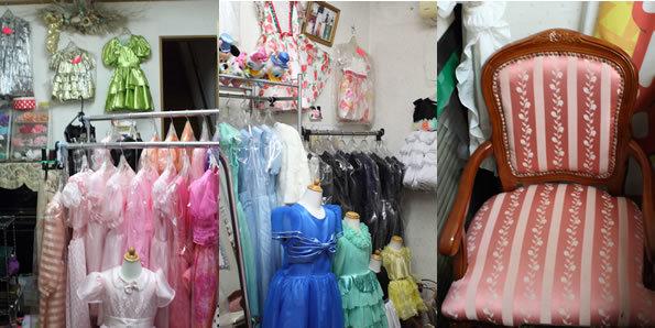 店舗内の様子,子供服,レンタル,