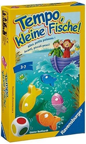 おさかなクン(テンポフィシュ:Tempo, kleine Fische!)/Ravensburger/Guenter Burkhardt,ボードゲーム,おすすめ,子ども