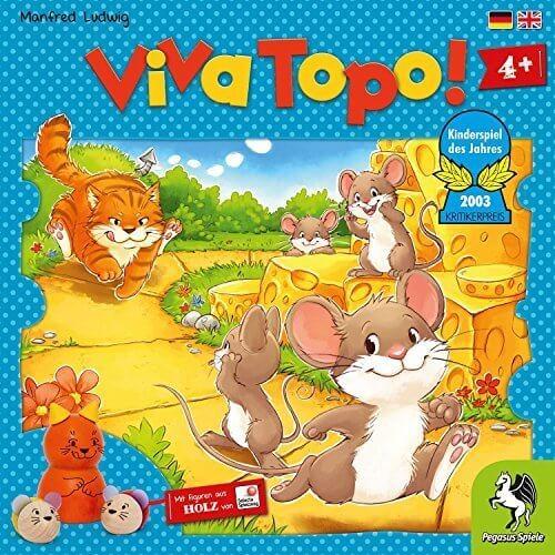 ねことねずみの大レース Viva Topo! [並行輸入品],ボードゲーム,おすすめ,子ども