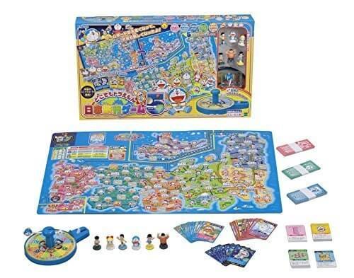 どこでもドラえもん日本旅行ゲーム5,ボードゲーム,おすすめ,子ども